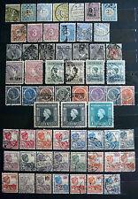 Sammlung niederländisch-Indien ab ca. 1870 gestempelt
