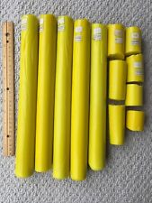 Z-78 Opaque Lemon Yellow Glass  blowing Zimmermann Color Rods.