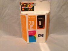 Genuine HP 78 Inkjet Print Ink Print Cartridge Tri-Color c6578d Sealed