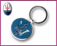 Maserati Key chain / metal Key ring / Key fob / Maserati Pendant, Metal Finish