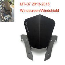 Moto MT07 alluminio parabrezza Parabrezza per Yamaha MT-07-FZ 07 2013 2014 2015