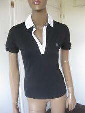Golfino schönes Shirt Gr. 36 Kurzarm  Schwarz weiß