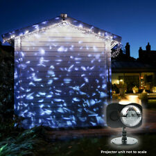 Outdoor Animated LED Snowfall Snow Flake Christmas Projector | Musical Moving