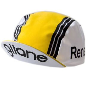 Renault Gitane vintage cap ( cycling team bike bicycle Fignon Hinault )