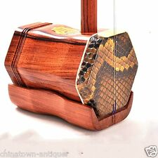 DunHuang Rosewood payung Erhu Chinese Violin Fiddle Musical Instrument #4174