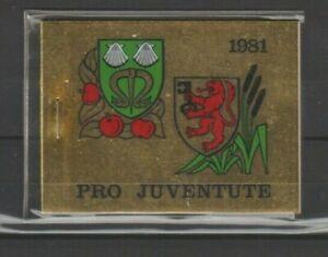 Suisse, Helvetia, Carnets de timbres neuf MNH, bien