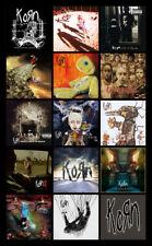 "KORN album discography magnet (4.5"" x 3.5"") the nothing deftones"