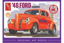 1:25 AMT 1940 Ford Coupe Original Art Series (Orange) Model Kit