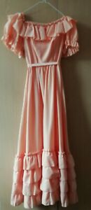 """Girl's Victorian style long dress. 30"""" chest"""