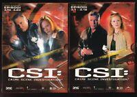 EBOND CSI. Crime Scene Investigation. Stagione 3. Vol. 1 - 2 (6 DVD) D570632
