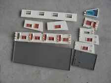 Vintage HO Scale Plasticville Motel with Office Buildings LOOK