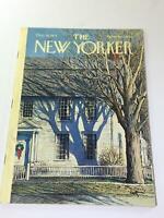 The New Yorker: December 18 1971 - Full Magazine/Theme Cover Arthur Getz