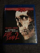 Evil Dead 2 (Blu-ray Disc, 2011, 25th Anniversary Edition)