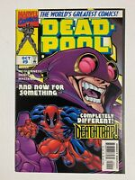 Deadpool Vol 1 #9 Marvel 1997 1st app of Deathtrap