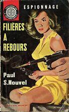 Arabesque Espionnage 313 - Paul S. Nouvel - filières... - EO 1964 - Jef de Wulf