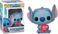 Stitch Valentine Funko Pop Vinyl New in Box