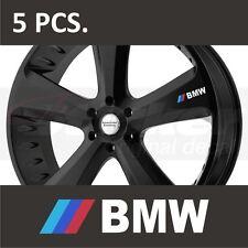 5 pcs BMW 3-Series 5-Series M3 M5 M6 X5 X6 Door Handle Wheel sticker decal