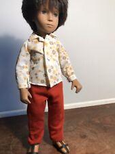 Early 1970s Sasha Boy Doll Gregor - Pumpkin Strings