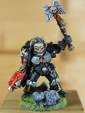 CLASSIC METAL BLOOD ANGEL DEATH COMPANY CHAPLAIN WELL PAINTED (3266)
