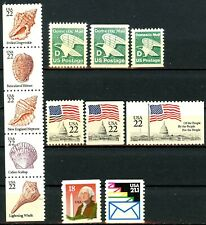 1985 Definitives Set of 13 MNH Scott's 2111 to 2121 & 2149-50 With Full Perfs