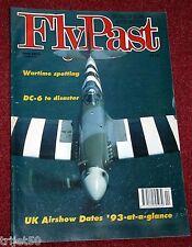 Flypast 1993 April Hunter,DC-6,B-25 Mitchell