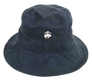 Brooks Brothers Cotton Navy Bucket Hat   S / M