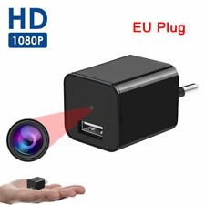 Mini Kamera 1080P Überwachungskamera Drinnen USB Ladegerät Adapter Überwachung