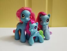 My Little Pony G3.5 Lot of 3 Rainbow Dash and Mom and McDonald's toy Brushable