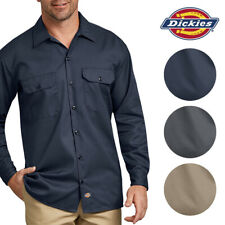 Dickies Men's 574 Long Sleeve Traditional  Button Front Uniform Work Shirt