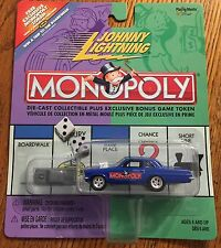 Johnny Lightning | Blue Muscle Car | Monopoly | Playing Mantis