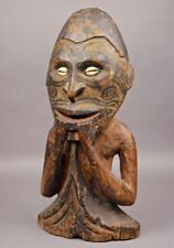 Rare OLD Museum Quality SEPIK ANCESTOR FIGURE Papua New Guinea PNG Great Patina
