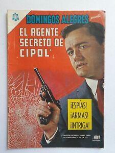 THE MAN FROM UNCLE #1 - DOMINGOS ALEGRES #646 - ORIG. COMIC IN SPANISH - NOVARO