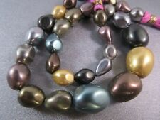 Multi Shell Pearl Nuggets Beads 30pcs