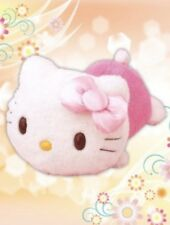"""Hello Kitty LARGE 16"""" Pastel Laying Down Plush - For Sale in JAPAN Only (2017)"""