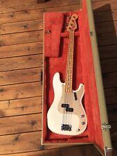 New ListingFender Usa 57 precision bass American Reissue Avri Pbass Blonde Ash