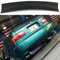 Honda Civic MK6 6th Gen Coupe Rear Trunk Spoiler Ducktail Wing Boot Lid Lip Tail