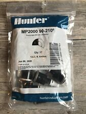 New listing 10 New Hunter Mp2000 90-210 degree 12-22 Ft Radius Rotator Sprinkler Nozzles
