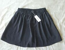 PIPER Navy Striped Skirt - Size 14 NWT RRP $79.95