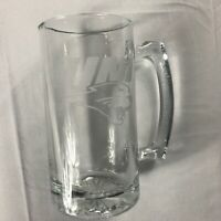 Northern Iowa Glass Stein Large Heavy Beer Mug Drink Student Alumni UNI Panthers