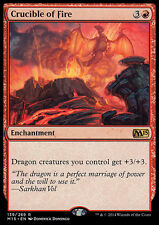 CRUCIBLE OF FIRE NM mtg M15 Red - Enchantment Rare