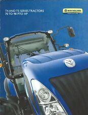 Farm Tractor Brochure - New Holland - T5.95 et al T4 T5 series - 2013 (F5940)