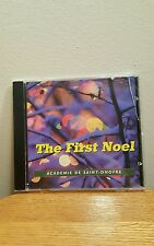 The First Noel: Academie De Saint-Onofre (CD, 1998, Music Trax)