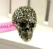 Charming Betsey Johnson Fashion Jewelry European and America Rose skull Ring