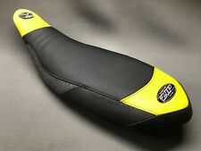 CAN AM DS450 BLACK/YELLOW 'ELIMINATOR' QUAD SEAT COVER