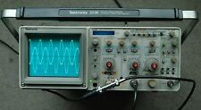 Tektronix 2236 100MHz Oscilloscope w/counter/timer/DMM, Calibrated, Two Probes