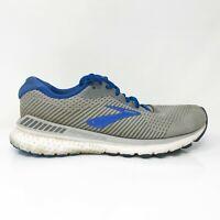 Brooks Mens Adrenaline GTS 20 1103071D051 Gray Blue Running Shoes Size 9.5 D