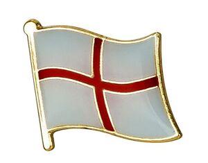 England / St George - Flag Pin Badge  High Quality Gloss Enamel