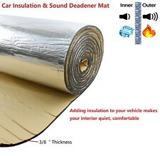 Cars Heat Insulation Thermal Mat Sound Noise Proof Deadener Block 116
