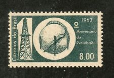 NO RESERVE AUCTION!!  Brazil stamp #967, MNHOG, XF, 1963