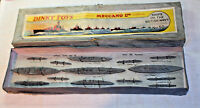 Dinky 50 Ships of the British Navy, All Complete in Original Box, Pre-war